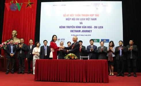 Vietnam Journey TV channel cooperates with Vietnam Tourism Association - ảnh 2