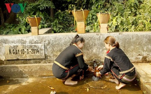 Water resource ceremony of the Ede - ảnh 1