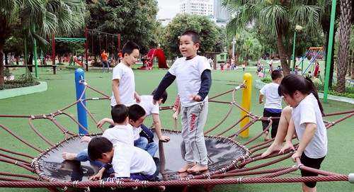 Children's rights to play  - ảnh 3