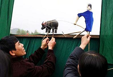 Stick puppetry of the Tay - ảnh 2