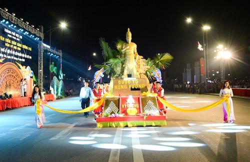 Hung Kings Festival 2019 underway in Phu Tho - ảnh 2