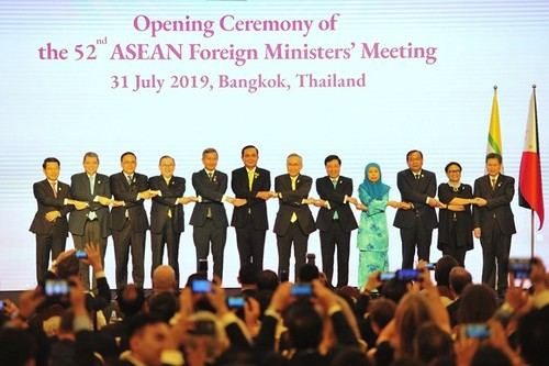 AMM52 joint communiqué affirms the importance of peace, stability in East Sea - ảnh 1