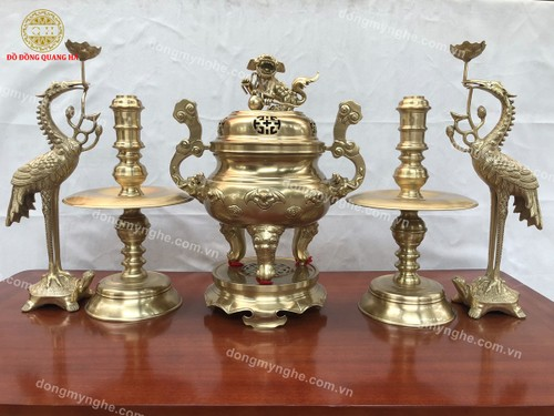 The craft of casting bronze in Yen Xa commune  - ảnh 5