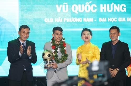 Vu Quoc Hung wins futsal award  - ảnh 1
