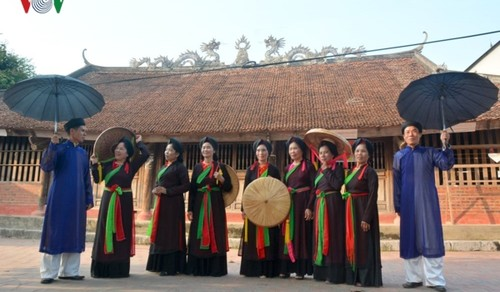 Quan Ho singing marks 10th anniversary of UNESCO recognition  - ảnh 1