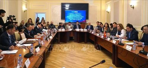 Вьетнам и Россия активизируют сотрудничество между малыми и средними предприятиями - ảnh 1
