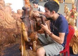 Làng nghề điêu khắc gỗ Mỹ Xuyên  - ảnh 3