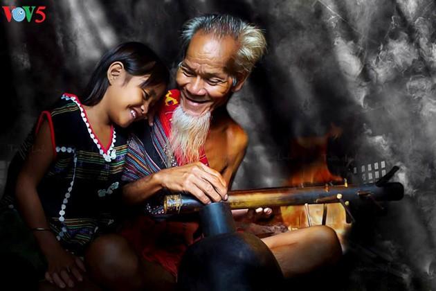 ความสุขในครอบครัวชนบทเวียดนาม