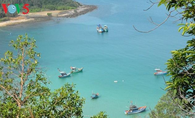 越南祖国西南部岛屿上的生活