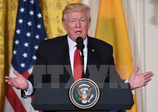ປະທານາທິບໍດີ ອາເມລິກາ Donald Trump ປາດຖະໜາຢາກປັບປຸງການພົວພັນກັບລັດເຊຍ - ảnh 1