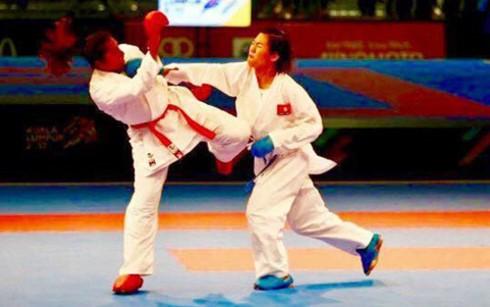 ເປັນຄັ້ງທຳອິດທີ່ ຫວຽດນາມ ຄ້ວາໄດ້ຫຼຽນຄຳໃນງານແຂ່ງຂັນກິລາມວຍ karatedo ໂລກ - ảnh 1