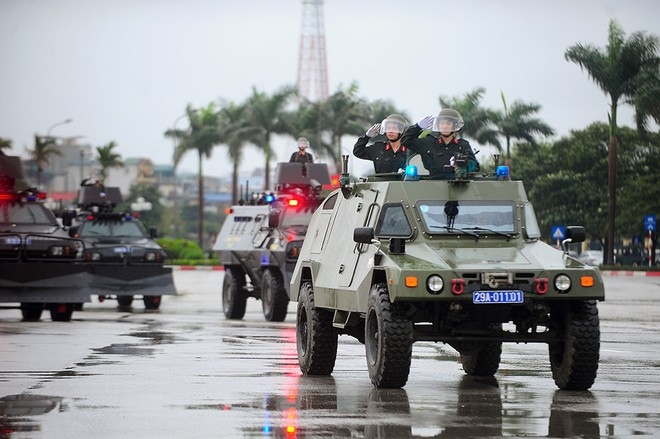 Hanoi: Security forces deployed for IPU-132 - ảnh 1