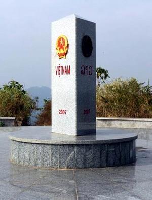 Vietnam dan Kamboja mulai membangun tonggak perbatasan nomor 314 - ảnh 1