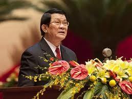 Presiden Vietnam Truong Tan Sang  menerima Kepala Jaksa Rakyat Agung Laos. - ảnh 1