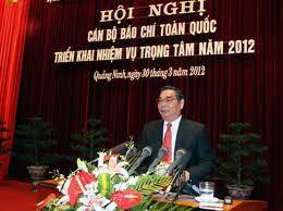 Konferensi  pers nasional  tentang penggelaran  tugas  tahun 2012. - ảnh 1