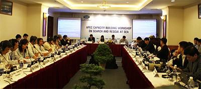 APEC berbagi pengalaman  tentang  pencarian dan pertolongan korban di laut. - ảnh 1