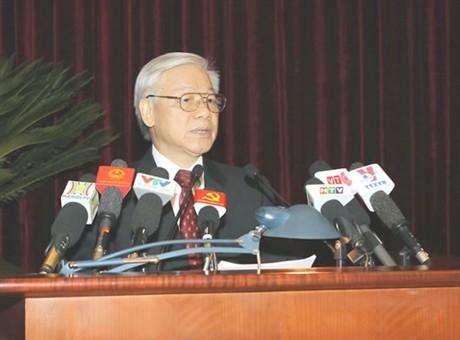 Kemenangan dari garis politik dan seni militer di bawah kepemimpinan Partai Komunis Vietnam - ảnh 1
