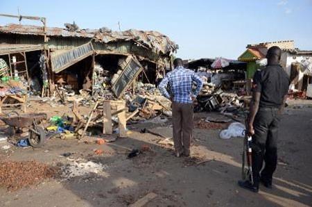 Serangan bom bunuh diri di Nigeria menimbulkan banyak korban - ảnh 1