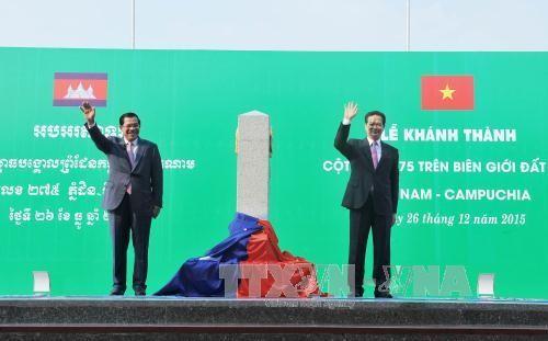 Pekerjaan menetapkan garis demarkasi antara Kamboja dengan Thailand,  Laos dan Vietnam akan  segera selesai. - ảnh 1