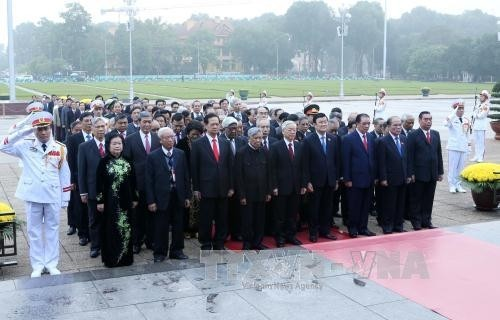 Aktivitas memperingati ultah ke-70 hari pemilu pertama MN Vietnam - ảnh 1