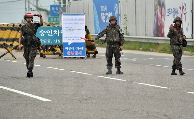 Republik Korea  terus membatas orang yang masuk ke zona industri Kaesong - ảnh 1