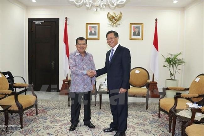 Mendorong hubungan kemitraan strategis  Vietnam-Indonesia. - ảnh 1