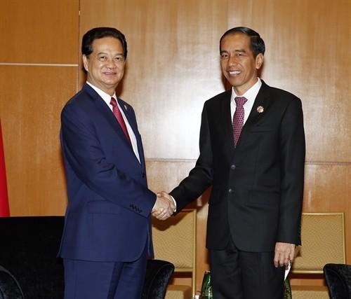 Mendorong hubungan kemitraan stategis Vietnam-Indonesia semakin berkembang - ảnh 1