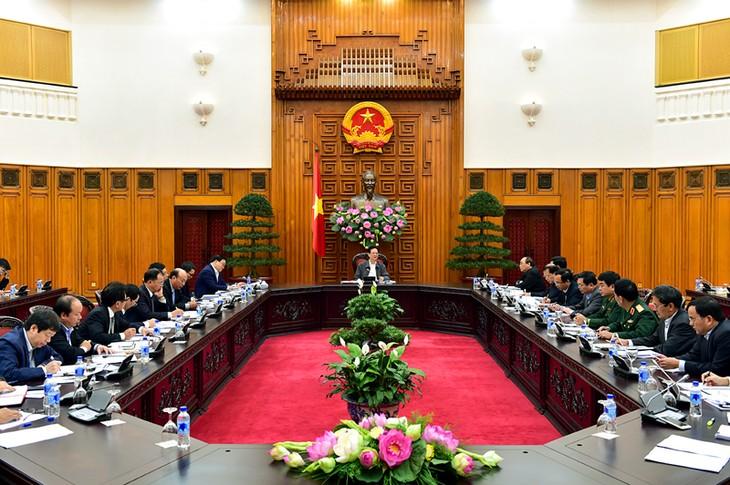 Badan Harian Pemerintah Vietnam mengadakan sidang  tentang masalah  menyesuaikan  perancangan listrik dan batu bara - ảnh 1