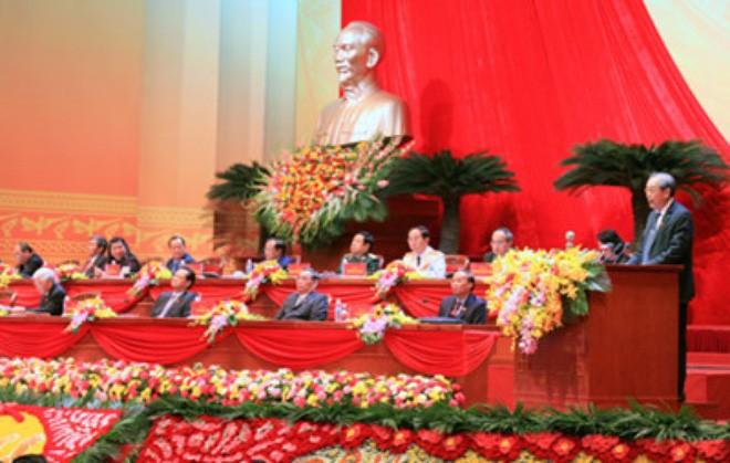 Para utusan Kongres siap  memasuki pemilihan  personalia KS PKV - ảnh 1
