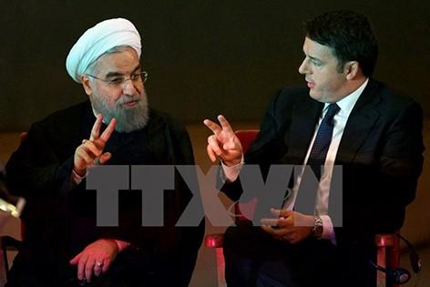 Iran dan Italia menandatangani kesepakatan-kesepakatan senilai  puluhan miliar dolar Amerika Serikat - ảnh 1