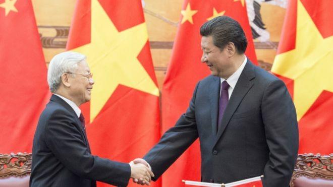 Sekjen KS PKV Nguyen Phu Trong menerima  Songtao,Utusan Khusus  dari Sekjen, Presiden Tiongkok - ảnh 1