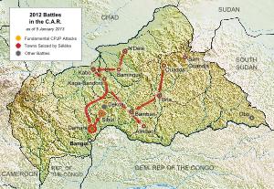 HRW berseru kepada PBB supaya memperkuat keamanan di Republik Afrika Tengah - ảnh 1