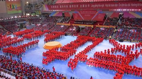 Kaum pemuda Vietnam dan Tiongkok berpadu tenaga  memupuk persahabatan - ảnh 1