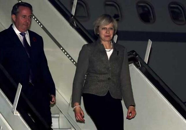 PM Inggeris, Theresa May melakukan kunjungan di India - ảnh 1