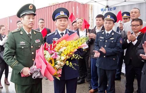 Polisi laut Tiongkok mengunjungi kota Hai Phong - ảnh 1