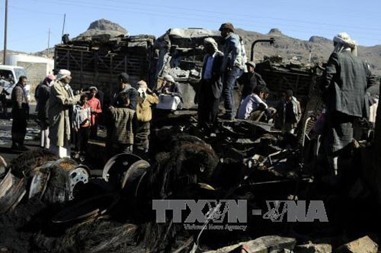 Lebih dari 50 orang  tewas dalam  baku hantam yang sengit di Yaman - ảnh 1