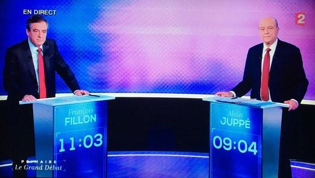 Mantan PM Perancis, Francois Fillon untuk sementara mendahului  Alain Juppe  dalam putaran ke-2 pemilihan  pendahuluan  - ảnh 1