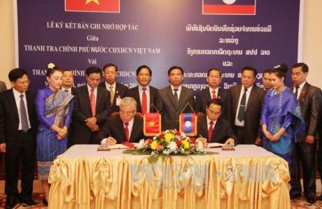 Inspektorat  Pemerintah Vietnam dan Laos memperkuat kerjasama - ảnh 1