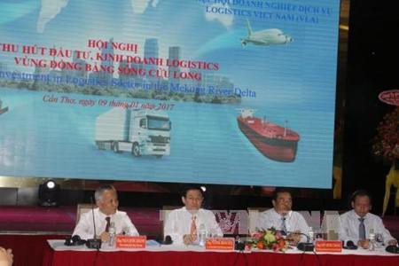 Daerah dataran rendah sungai Mekong menyerap kedatangan badan-badan usaha untuk melakukan investasi dan bisnis logistik - ảnh 1