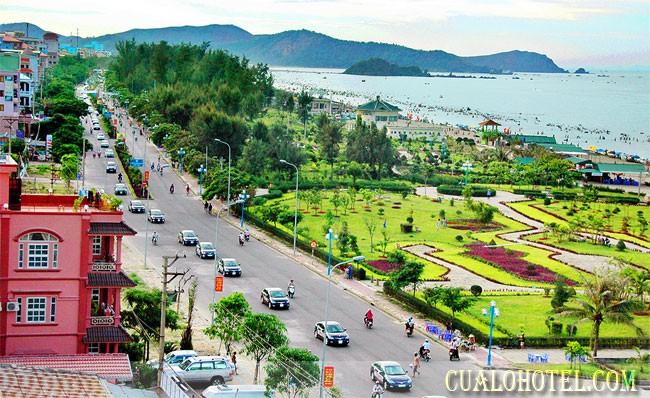 Lapangan pantai Cua Lo-Tempat peristirahatan yang interesan di provinsi Nghe An - ảnh 1