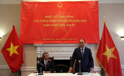 PM Vietnam, Nguyen Xuan Phuc mengakhiri dengan baik kunjungan resmi di AS - ảnh 1