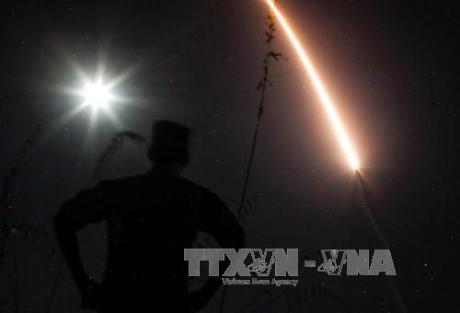 Tentara AS percaya diri tentang kemungkinan menjemput bola terhadap  ancaman-ancaman dari rudal balistik interkontinental - ảnh 1