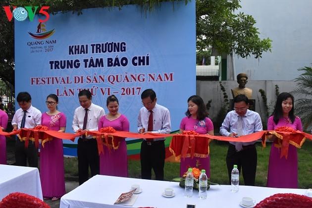 Banyak aktivitas  diselenggarakan menjelang Festival Pusaka Quang Nam - ảnh 1