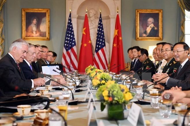 AS dan Tiongkok sepakat melaksanakan sanksi-sanksi terhadap RDRK - ảnh 1