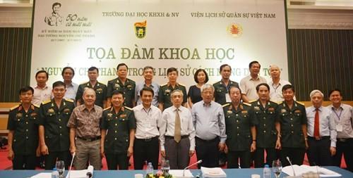"Simposium ilmiah: ""Jenderal Nguyen Chi Thanh dalam sejarah revolusi bangsa"" - ảnh 1"