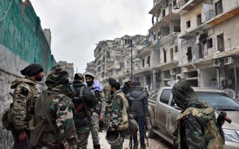 Suriah mengumumkan  perintah  gencatan senjata di bagian selatan - ảnh 1