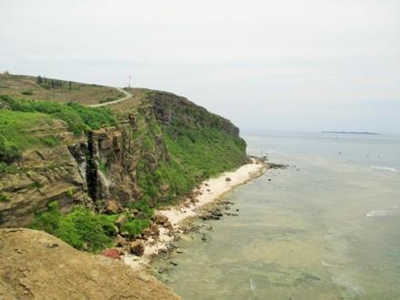 Keindahan gunung Thoi Loi di pulau Ly Son - ảnh 1