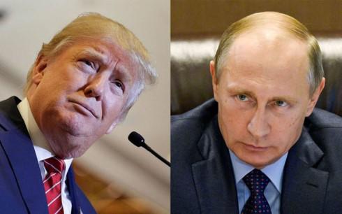 Presiden AS, Donald Trump memberikan penilaian tentang  pertemuan  antara dia dengan Presiden Rusia, Vladimir Putin sebagai indikasi positif - ảnh 1