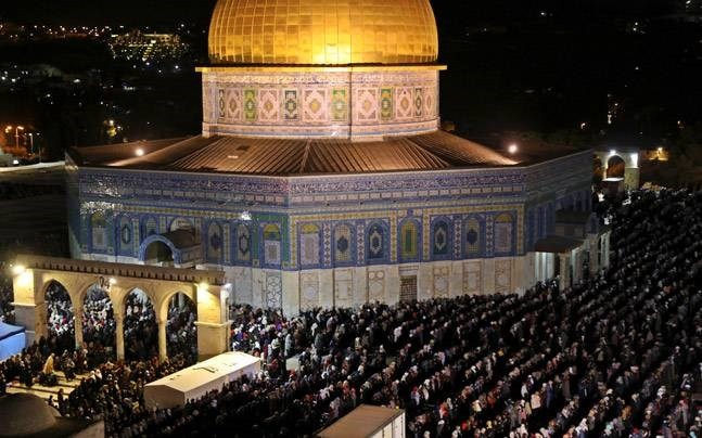 Israel untuk sementara menghentikan  ibadah sembahyang  di Masjid di Jerussalem - ảnh 1