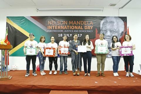Konsulat Jenderal Afrika Selatan di kota Ho Chi Minh memperingati Hari Internasional Nelson Mandela - ảnh 1